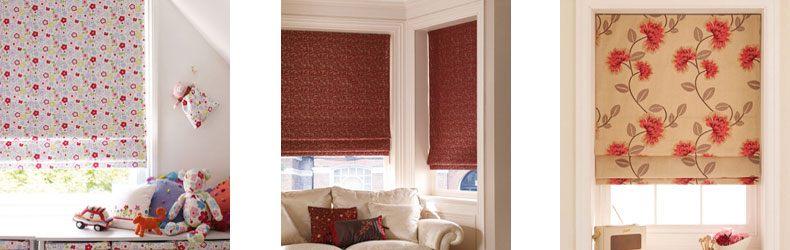 Roman Blinds by Maynelines Blinds in Fleet Hampshire