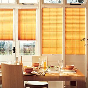 Pleated Blinds >>