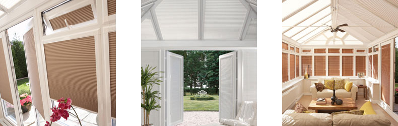 Conservatory Blinds by Maynelines Blinds in Hampshire