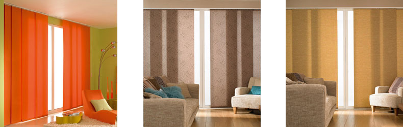 Panel Blinds by Maynelines Blinds in Fleet Hampshire