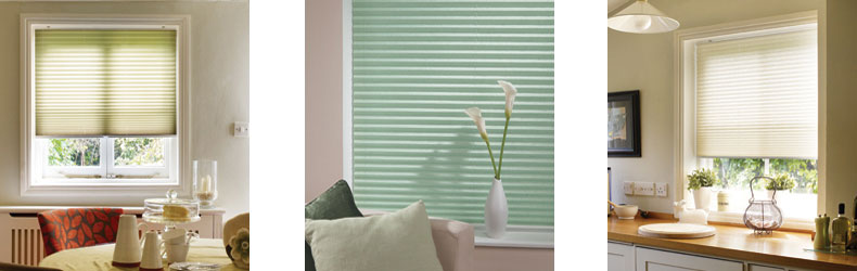 Pleated Blinds by Maynelines Blinds Hampshire