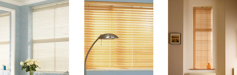 Wood Effect Blinds by Maynelines Blinds in Fleet Hampshire